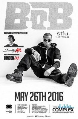 B.o.B.stfu. US Tour