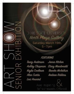 DSU Student Art Show: Senior Exhibition