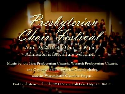 Presbyterian Choir Festival