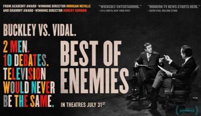 WSU Shaw Gallery and Utah Film Center Presents Best of Enemies