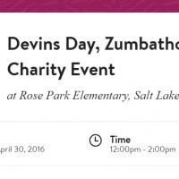 Devin's Day, Zumbathon® Charity Event