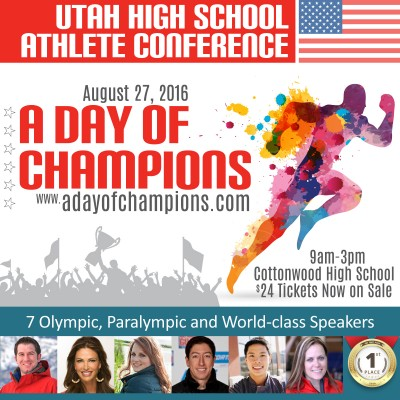 2016 Utah High School Athlete Conference - A Day o...