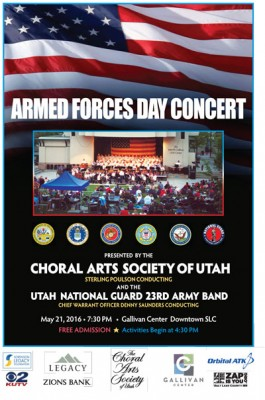 Armed Forces Day Concert with the Choral Arts Soci...