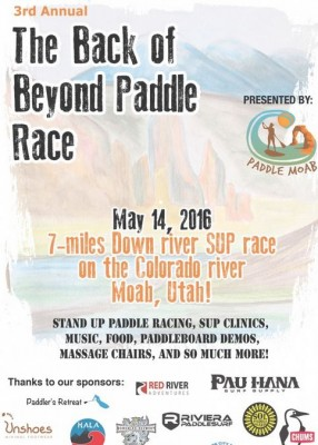 Back of Beyond Stand-Up Paddle Race