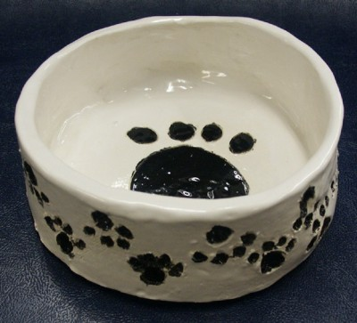 Clay Bowls for Pets and Furry Friends