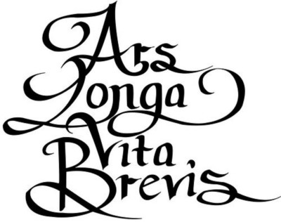 Closing night ars longa vita brevis for Vita brevis ars longa tattoo