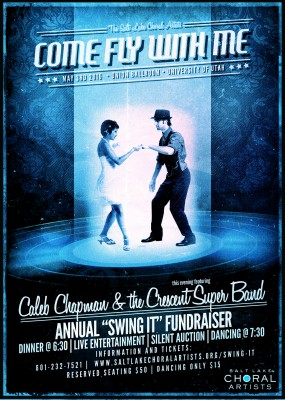 Come Fly With Me, Salt Lake Choral Artists with Guests Caleb Chapman and the Crescent Super Band