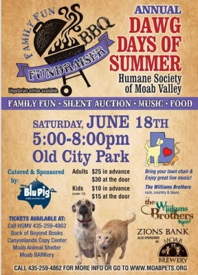 Dawg Days of Summer BBQ and Silent Auction Benefit