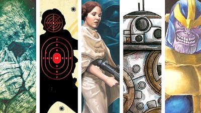 """Gallery Stroll - Star Wars Exhibit - """"In a Galaxy Far, Far Away"""""""