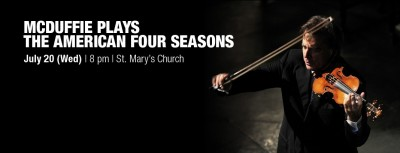McDuffie Plays The American Four Seasons
