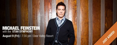 Michael Feinstein with the Utah Symphony