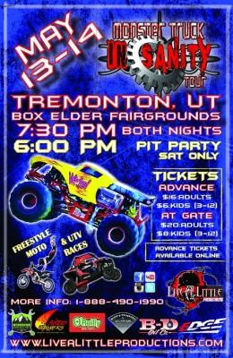 Monster Truck Insanity Tour in Tremonton