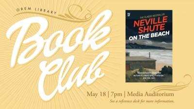 Orem Library Book Club: On the Beach