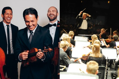 Summer Nights With the Stars: Simply Three and the Lyceum Music Festival Orchestra
