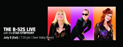 The B-52s live with the Utah Symphony