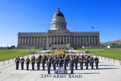 Utah Voices and 23rd Army Band