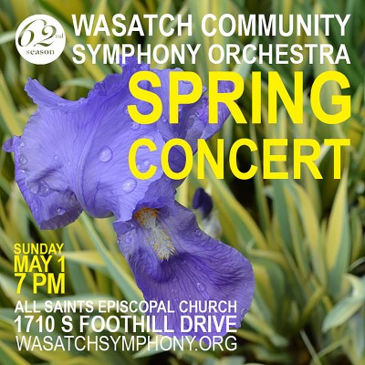 Wasatch Symphony Spring Concert