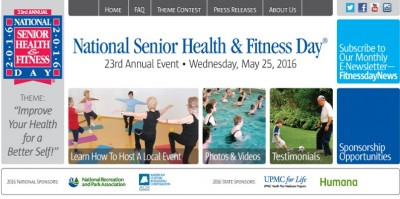 National Senior Health and Fitness Day Celebration