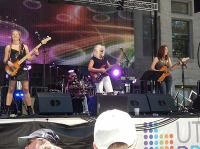 Sister Wives at Summer Concert Series