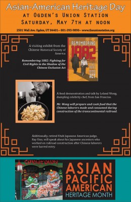 Asian American Heritage Day at Ogden's Union Station