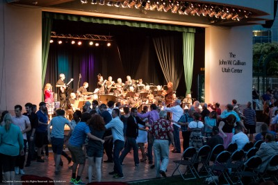 Big Band Summer: Big Band Dances at Gallivan Center