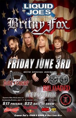 Brinty Fox Concert