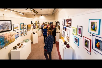 CacheArts Gallery Walk, 2nd Friday of Every Even Month