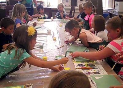 CacheArts Summer Art Camp 1