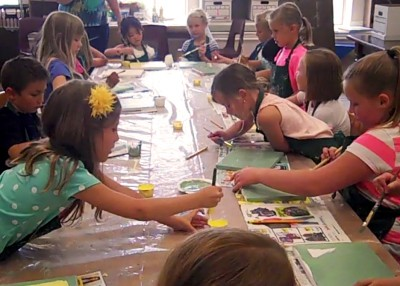 CacheArts Summer Art Camp 3