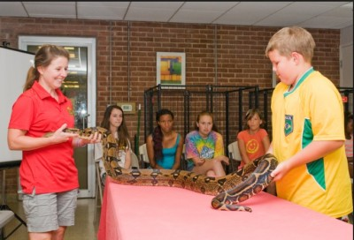 Caring for Animals Day Camp