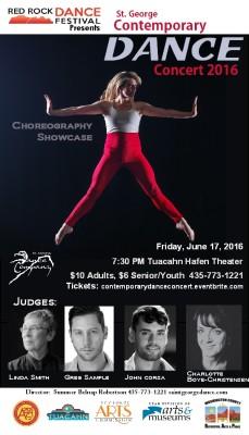 Contemporary Dance Concert 2016 - Choreography Showcase