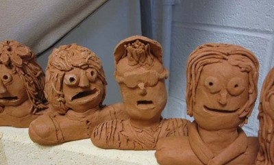 Express Yourself: Self Portraits in Clay for Kids
