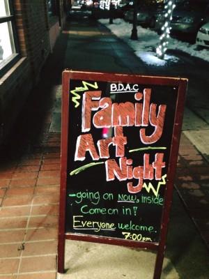 Family Art Night at the Bountiful Davis Arts Center