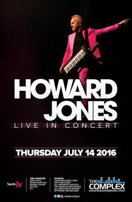Howard Jones - Live in Concert (21+)