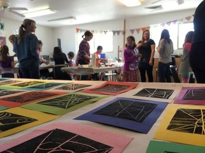 Kids Printmaking Workshop