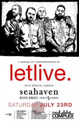 Letlive @The Complex