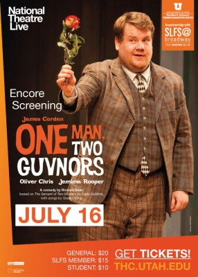 """National Live Theatre presents """"One Man, Two Guvnors"""" (Encore)"""