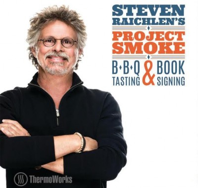 Steven Raichlen's Project Smoke BBQ Tasting and Book Signing