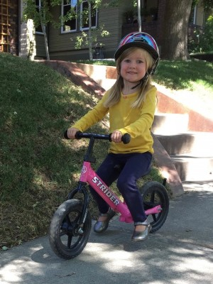 Strider Bike Giveaway Party