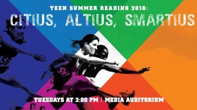Teen Summer Reading Kickoff: Literary Olympics