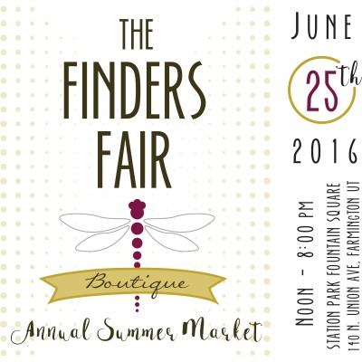 The Finders Fair Boutique Annual Summer Market