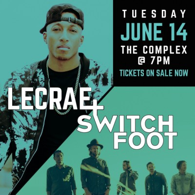 The Heartland Tour - Lecrae and Switchfoot