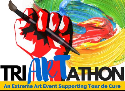Tri-Art-athon for the Tour de Cure