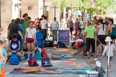 Utah Foster Care's Chalk Art Festival