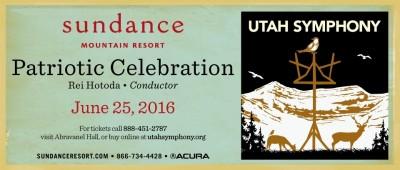 Utah Symphony Presents Patriotic Celebration