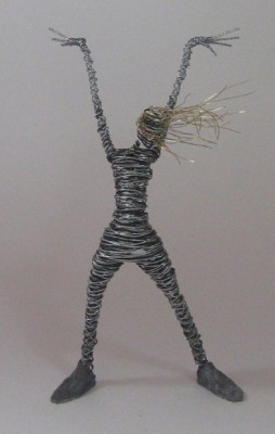 Wild Wire Sculptures for Teens