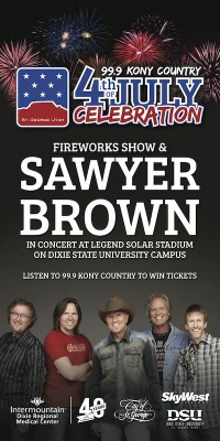 Sawyer Brown and Fireworks Show