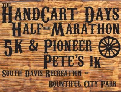 South Davis Handcart Days Races: 1K, 5K, and Half-Marathon