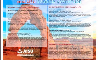 AISU Summer Camp