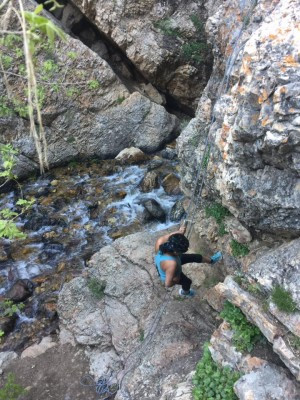 Bell's Canyon Hike and Waterfall Rappel